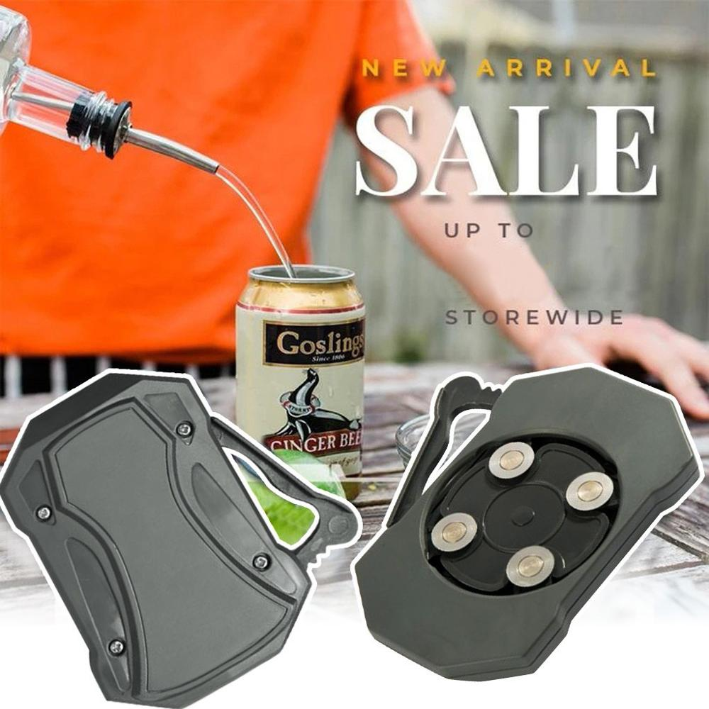 Outdoor Camping  Multifunction Topless Pocket Can Opener Bottle Tools