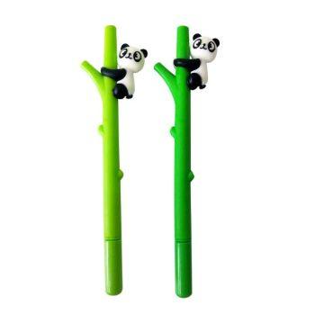 Ellen Brook 1 Piece Korean Stationery Cute Cartoon Advertising Gel Pen School Fashion Office Kawaii Supply Panda Bamboo Animals